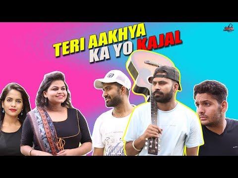 Teri Aakhya Ka yo Kajal    Haryanvi Video    Swadu Staff Films