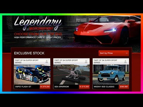 GTA Online NEW DLC Content Update - Vapid Flash GT, Sea Sparrow, Weeny Issi Classic & Vespucci Job!