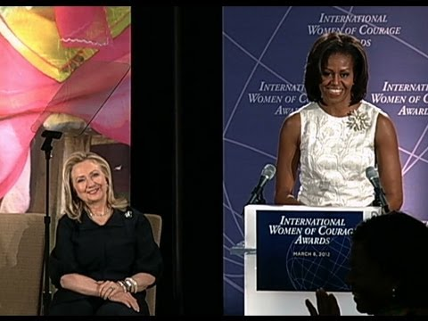 First Lady Michelle Obama Honors International Women of Courage