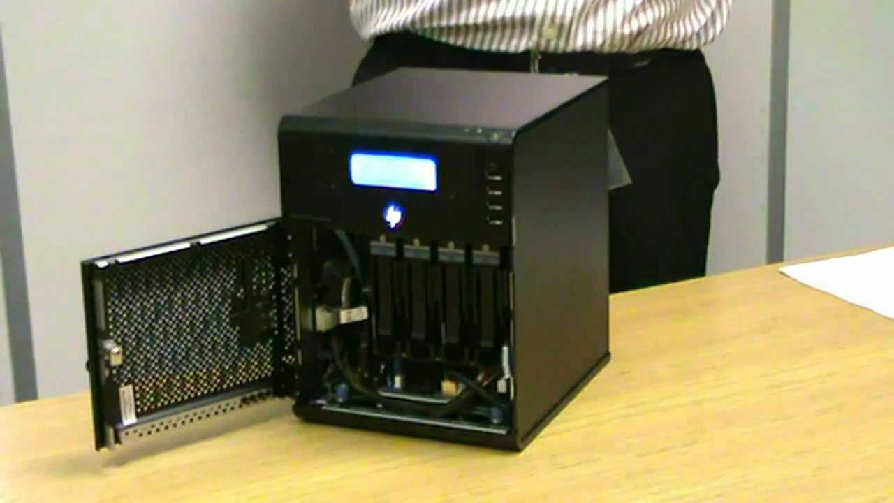 HP ProLiant Microserver LCD Mod @ Servers Plus - YouTube