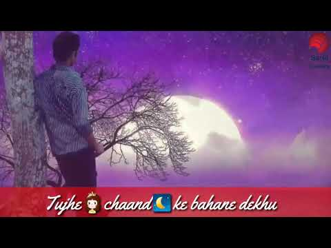 Tuje Chand Ke Bahane Dekhu Tu Chat Par Aaja Soniye Cute Clip