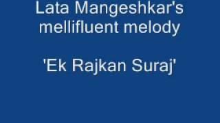 Gujarati - Ek Rajkan Suraj - Lata Mangeshkar