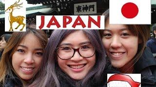 Japan Vlog Day 1&2 - Tokyo, Nara and Kyoto