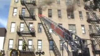 Bronx hero rescues boy from blaze