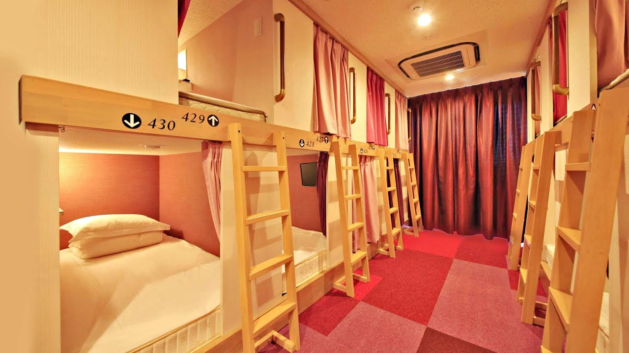 Tokyo Capsule Hotel Centurion Ladies Hostel Ueno Park Female Only