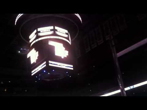 Toronto Maple Leafs Intro and Starting Lineups