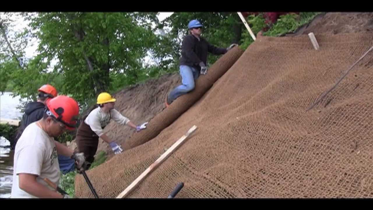 How To Stabilize Your Shore With Erosion Control Fabric