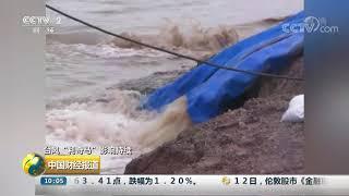 """[中国财经报道]台风""""利奇马""""影响持续 山东:迎战""""利奇马""""减少农业损失  CCTV财经"""