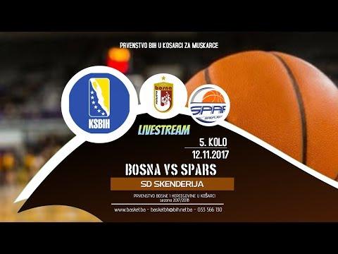 Bosna Royal vs Spars ◘ 5 kolo ◘ KSBIH