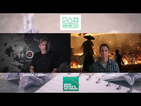 Download Ghost of Tsushima with Brian Fleming of Sucker Punch Productions | The AIAS Game Maker's Notebook