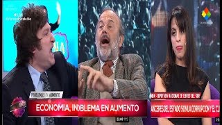 """Javier Milei contra Donda y Amadeo: """"Todos estos nos van a volver pobres"""" Intratables- 26/05/17"""
