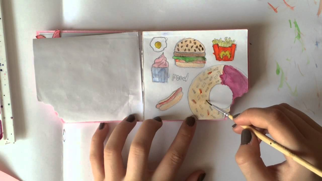 Рисуем вкусняшек