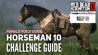 RDR2 Horseman 10 Challenge Guide - 1080p HD Red Dead Redemption 2