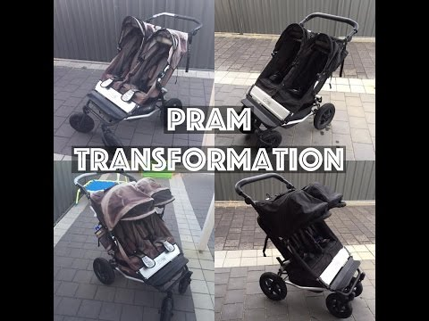 PRAM TRANSFORMATION | MOUNTAIN BUGGY DUET