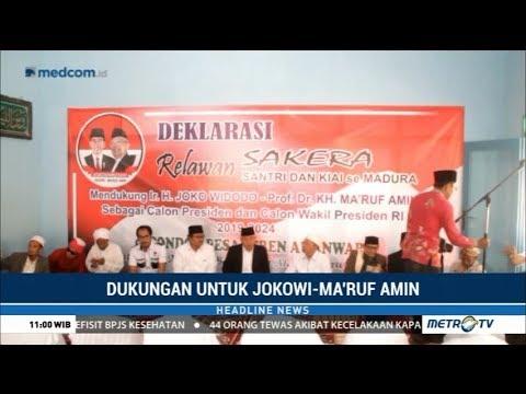 "Deklarasi Relawan ""Sakera"" (Santri & Kiai Se-Madura) Dukung Jokowi-Ma'ruf Mp3"