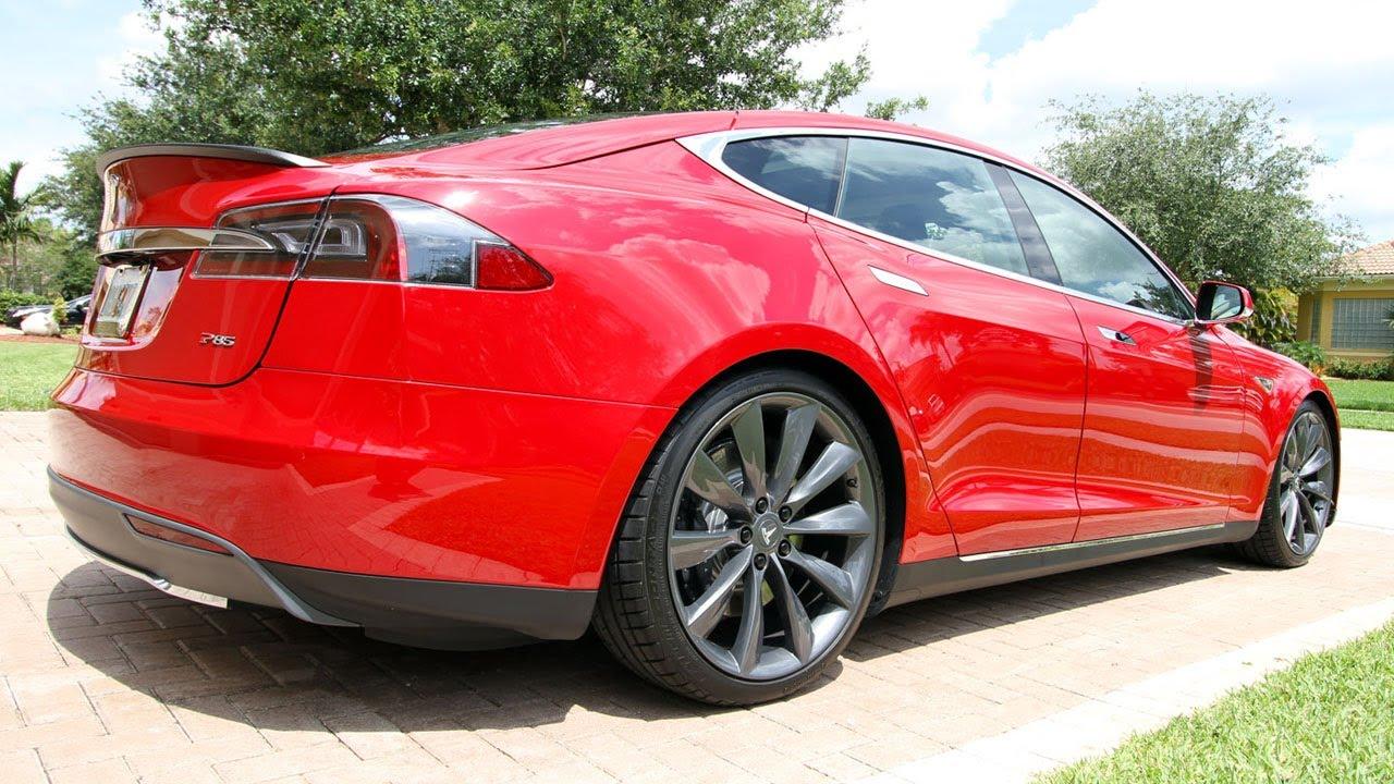 Tesla Model S Performance Energy Usage and Regenerative Braking over the  1/4 Mile