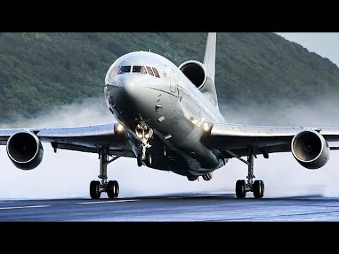 WoW! Unexpected GO AROUND - L1011 Tristar BLOWS ME AWAY