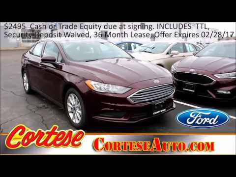 2017 Ford Fusion Fairport, NY | Best Ford Dealership Fairport, NY