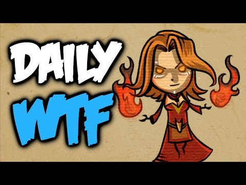 Dota 2 Daily WTF - Defence of the Lina