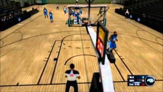 NBA 2K13 Wii My Career part 1