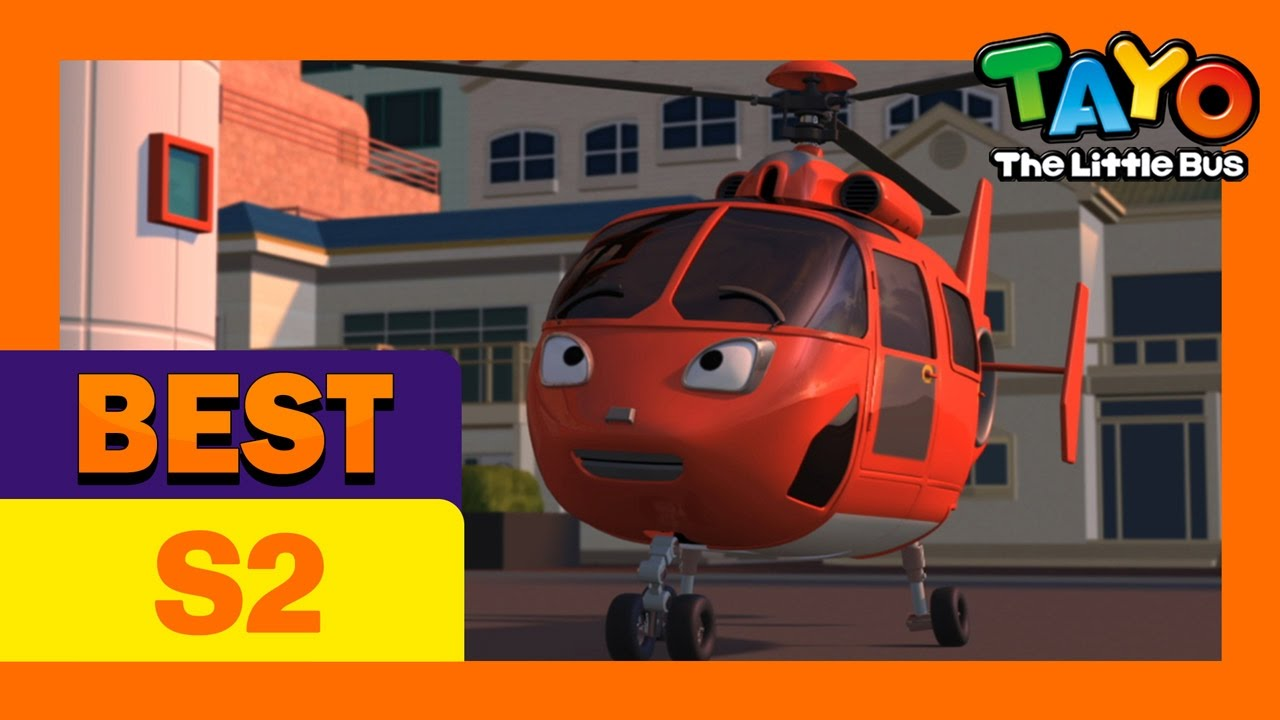 Air The Brave Helicopter L Popular Episode L Tayo The Little Bus L