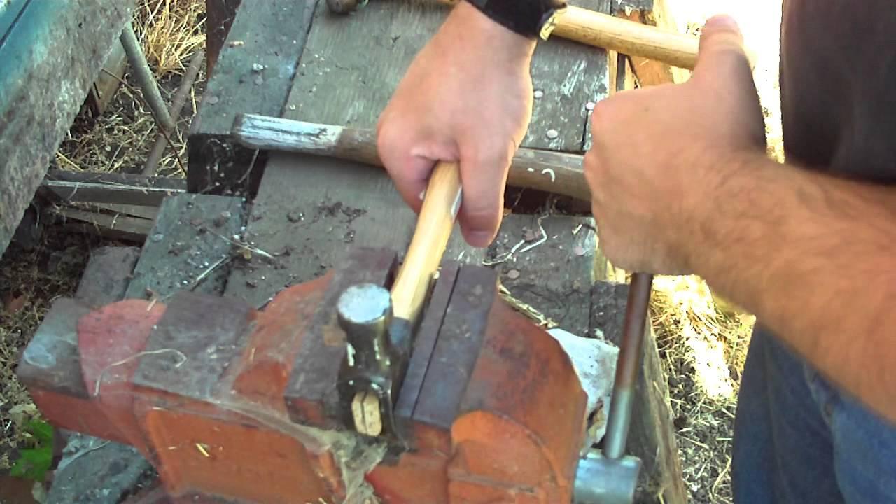 Man VS Junk Episode 41 - Replacing A Hammer Handle