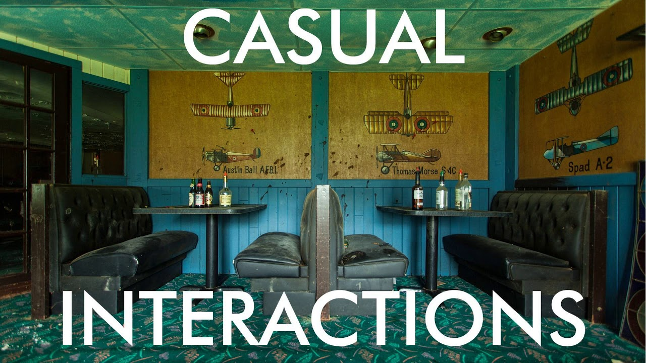 Download Casual Interactions Podcast: Episode 9 - Who's Afraid Of The Big, Black Bat?!?