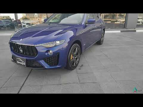 MASERATI LEVANTE GRANSPORT V8 review, sound, start, exhaust 2019