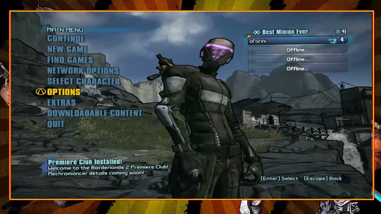 from Kobe borderlands 2 multiplayer matchmaking