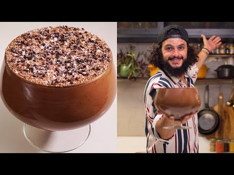 MOUSSE CREME DE CHOCOLATE  Mohamad Hindi