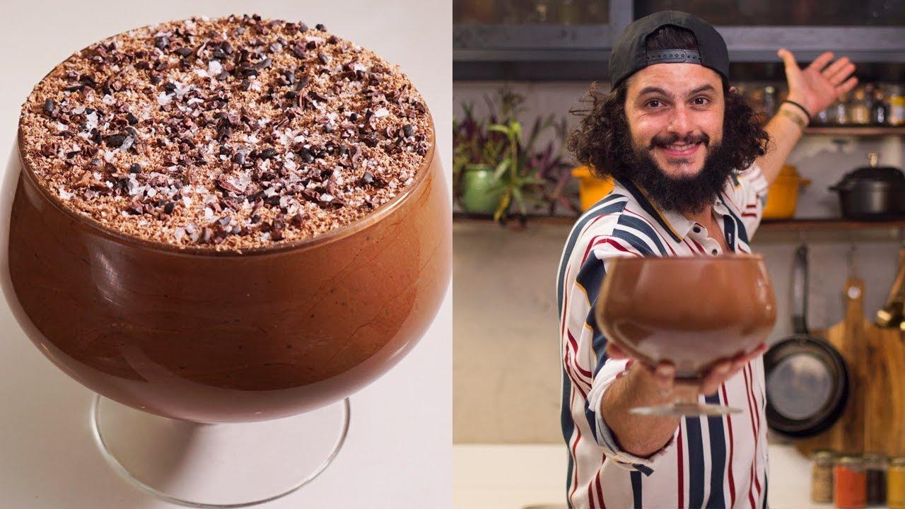 MOUSSE CREME DE CHOCOLATE | Mohamad Hindi