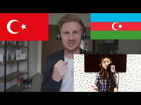 Nigar Muharrem - Galiba (Sagopa Kajmer cover) // TURKISH/AZERBAIJAN MUSIC REACTION