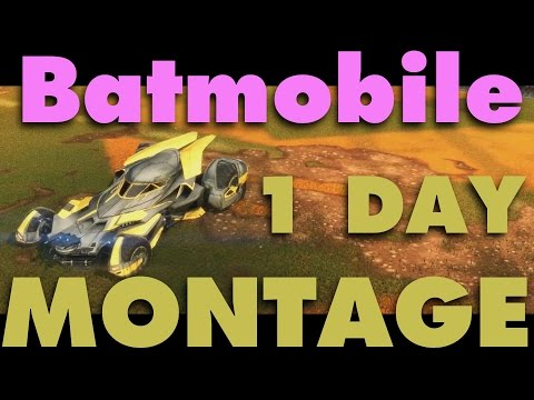 RL 1 Day Montage - Batmobile (5K Special)