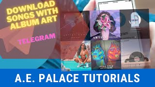 Download SONGS with ALBUM ART in 10 easy steps using 1 APP only
