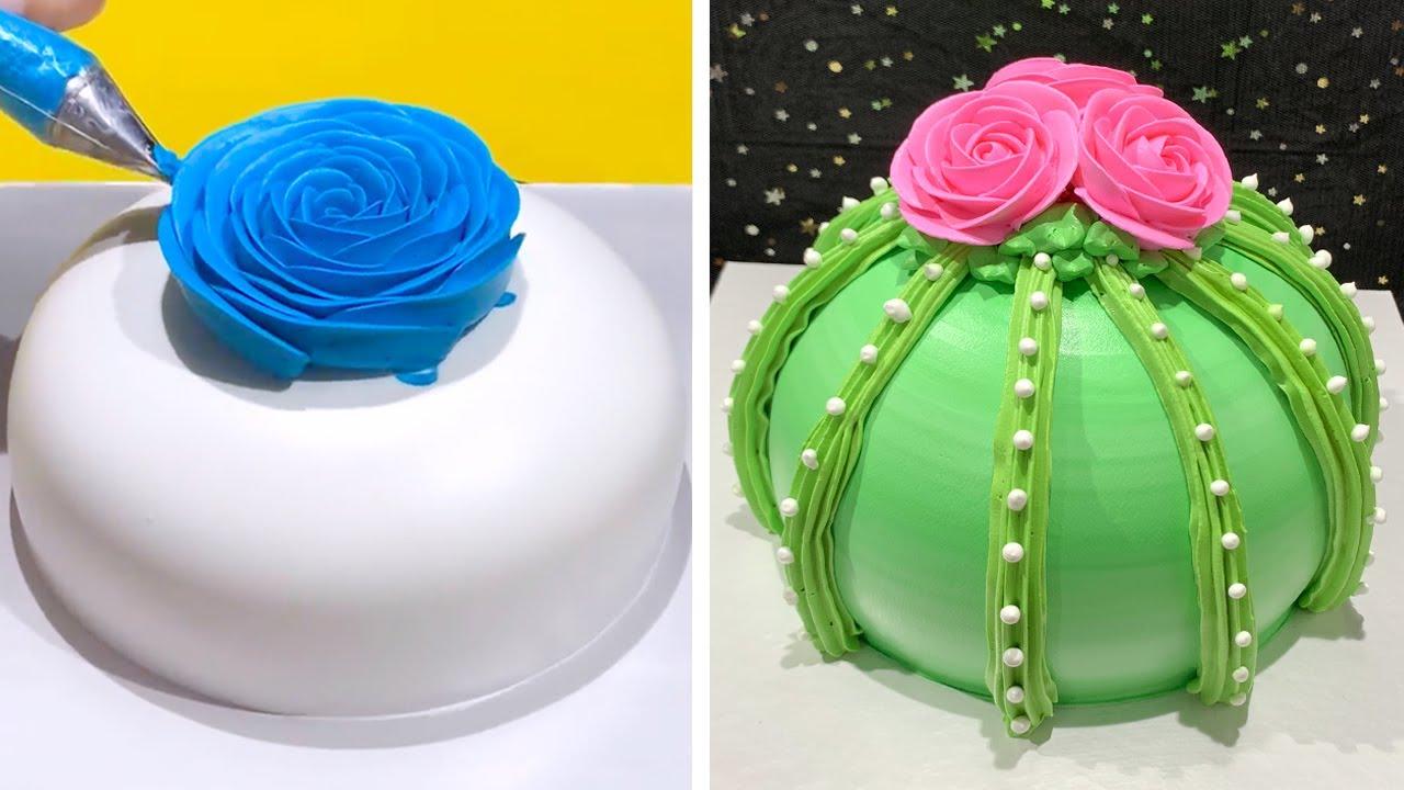 Top 5 Beautiful Cake Decorating Ideas Compilation   Homemade Chocolate Cake Decorating Tutorials