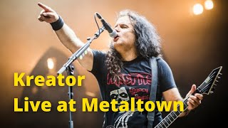 Kreator - Terrible Certainty (live at Metaltown HQ)