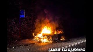 23.09.2019 - Ild i bil ved Virum