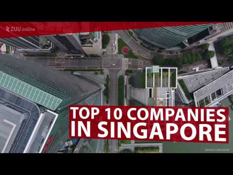 Top 10 Companies in Singapore