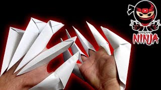 How to make: Origami Paper Claws ((EASY))