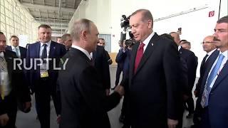 Germany: Putin bids farewell to Erdogan as G20 summit draws to a close