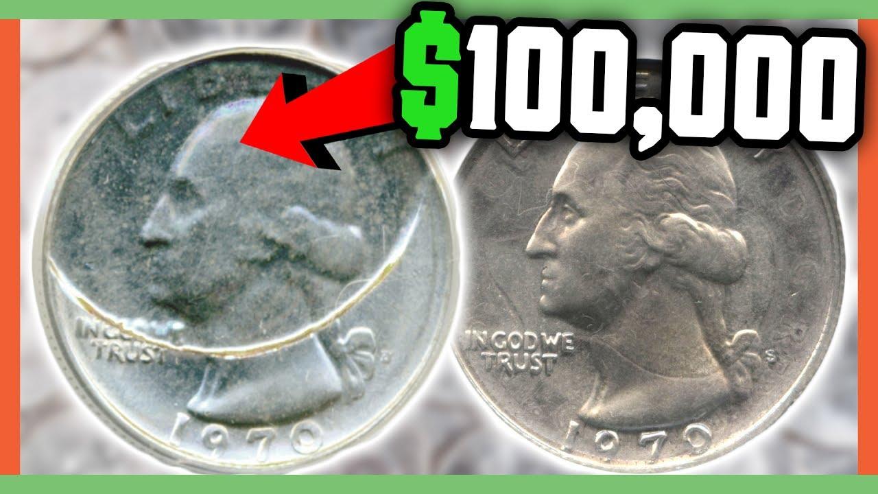 $100,000 RARE QUARTER TO LOOK FOR - RARE ERROR QUARTERS ...