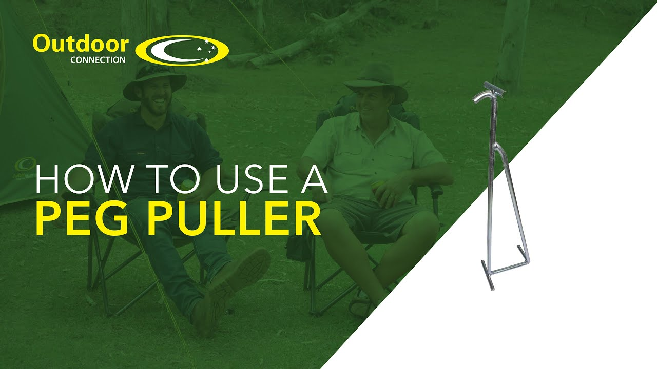 How to use a Peg Puller from Outdoor Connection & How to use a Peg Puller from Outdoor Connection - YouTube