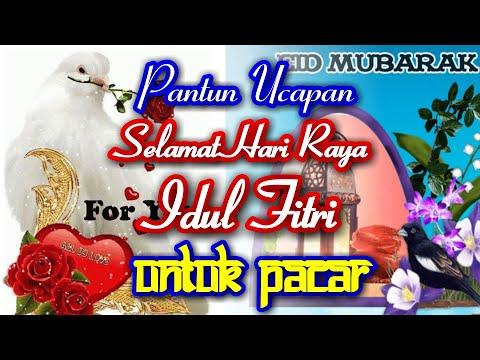 Ucapan Idul Fitri 2021 Untuk Pacar (Pantun Cinta Romantis)