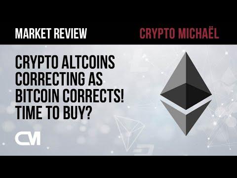 🚨 Crypto Altcoins Correcting as Bitcoin Corrects! Time to Buy?! 🚨