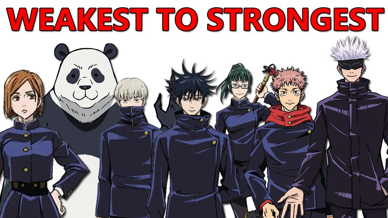 Jujutsu Kaisen All Sorcerers Ranked Weakest To Strongest All Curse Techniques Explained Youtube