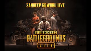 PlayerUnknown's Battlegrounds  PC Lite  | SANDEEP GOWDRU LIVE