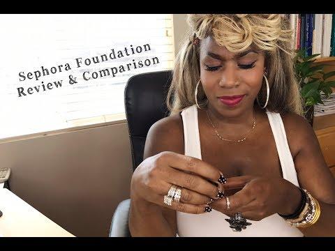 Sephora Foundation Review & Comparison