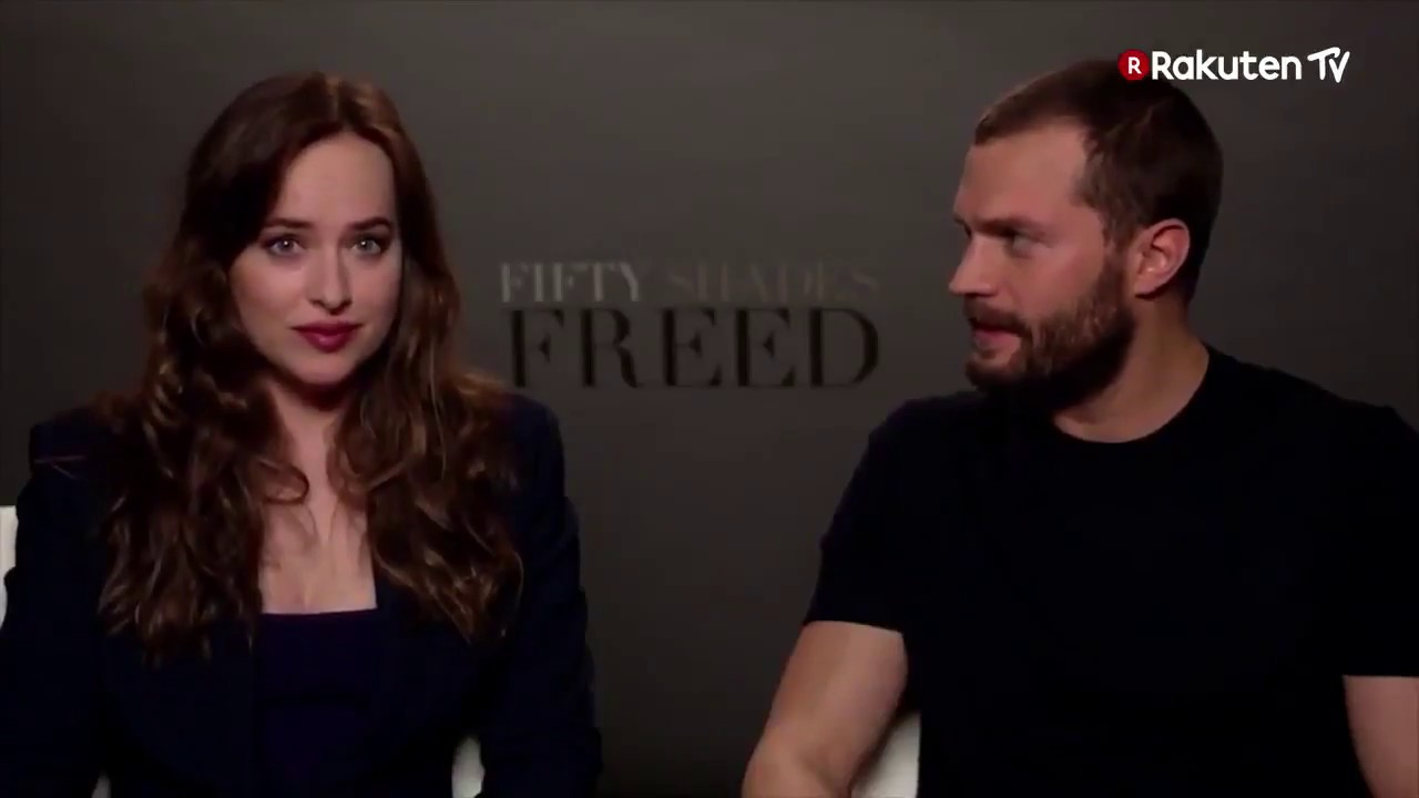 Entrevista a Jamie Dornan y Dakota Johnson Fifty Shades Freed - Damie