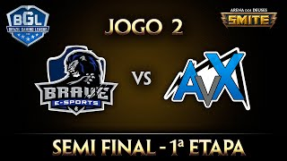 brave x avalanx semi final jogo 2 smite bgl 2016 1ª etapa