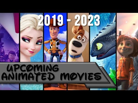 All new animated movies 2020